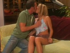 Young pretty blonde hottie getting fucked